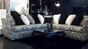 4344 l shaped zebra sofa relaxing never looked so With zebra sectional sofa