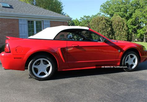 1999 Ford Mustang Gt Convertible 35th Anniversary Year
