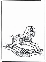 Colorear Juguetes Kleurplaat Dibujos Juguete Dondolo Cavallo Hobbelpaard Madera Caballo Rocking Horse Coloring Pintar Caballito Schaukelpferd Colorare Tradicionales Caballos Google sketch template