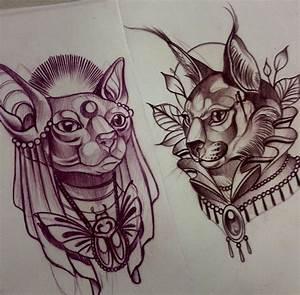 The 25+ best Egyptian cat tattoos ideas on Pinterest