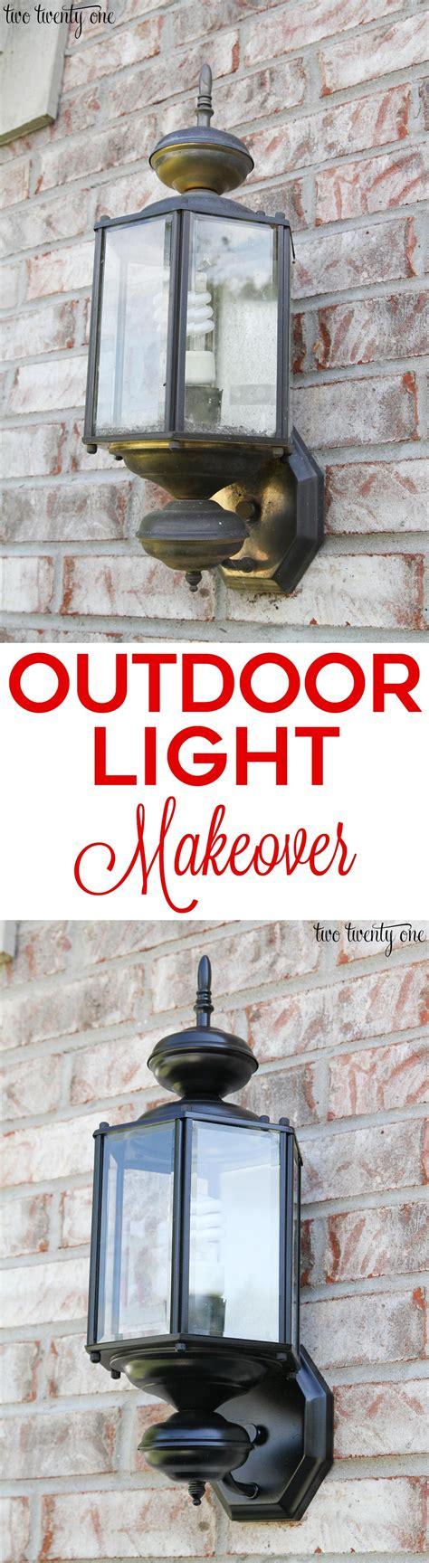 Mobile Garage Lighting by Updated Outdoor Garage Lights Bhg Home