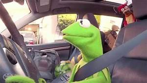 The Muppets Fill Up The Toyota Highlander Before The