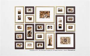 the perfect picture wall template kit decorating ideas With picture hanging template kit
