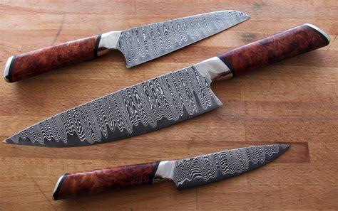 forged kitchen knives master knife maker seth burton makes a really beautiful