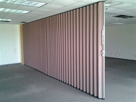Modernfold Accordion Wall Partition  Sliding Retractable