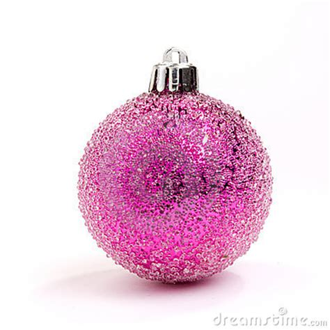 pink bauble royalty free stock photo image 11928895