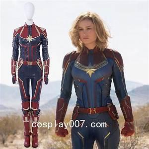 captain, marvel, carol, danvers, cosplay, costume, marvel, superhero, female, costume, for, halloween