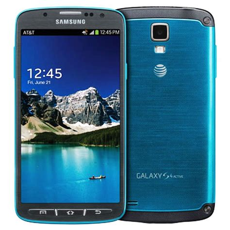 samsung galaxy s4 sgh i537 active unlocked 16gb blue smartphone fair condition ebay