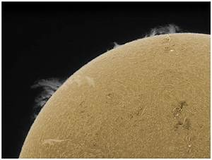 Lunt Solar Filters Are Not Centrally Obstructed