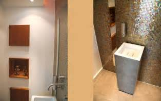 glasmosaik fliesen braunbeigegste wc gäste wc mit glasmosaik roomido