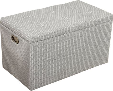 gray and white ottoman cloth storage ottoman with 3 ottomans 2 stools gray
