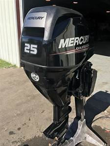 2013 Mercury 25 Hp 3 Cylinder 4