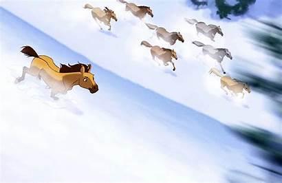 Spirit Stallion Cimarron Movie Run Idontwannabeyouanymore Apr