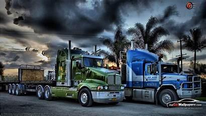Trailer Trucks Semi Kenworth Truck Volvo Cool