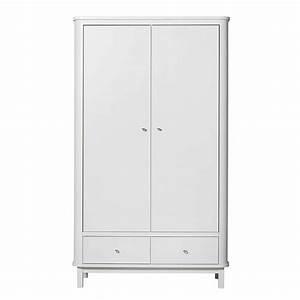 Kleiderschrank 2 Türig Weiß : oliver furniture wood kleiderschrank 2 t rig weiss engel ~ Indierocktalk.com Haus und Dekorationen