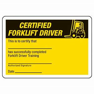 Certification photo wallet cards certified forklift for Forklift operator certification card template