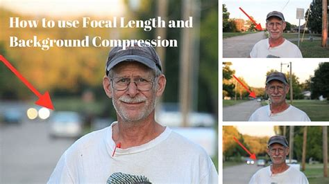 focal length  background compression