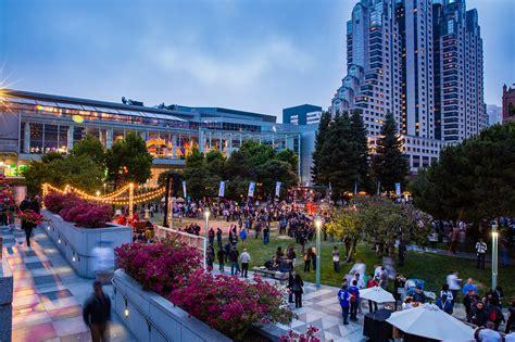 yerba buena gardens yerba buena gardens outdoor catering green events