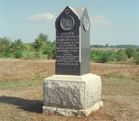 5th maryland volunteer infantry regiment monument at antietam