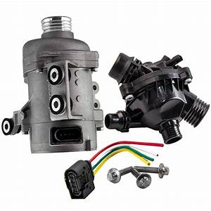 Electric Water Pump   Thermostat Kit For Bmw 328i 528i