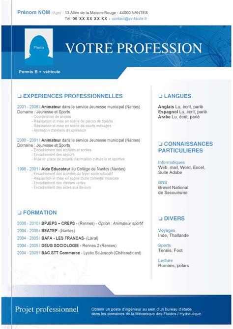 Cv Word Telecharger by Mod 232 Le Cv Esth 233 Ticienne Original 224 T 233 L 233 Charger Au Format