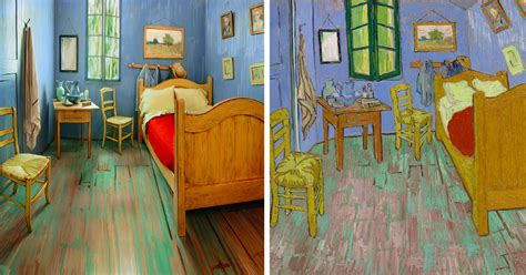 Gogh Bedroom Painting by Artists Recreated Gogh S Bedroom And Rented It
