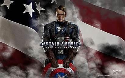 Captain America Evans Chris Wallpapers Avenger Background