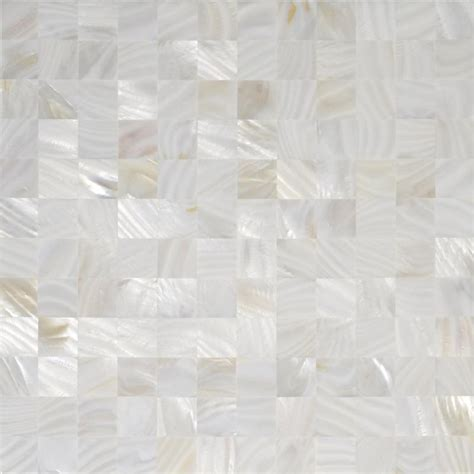 Mother Of Pearl Tiles With Base Backsplash Seamless Shell