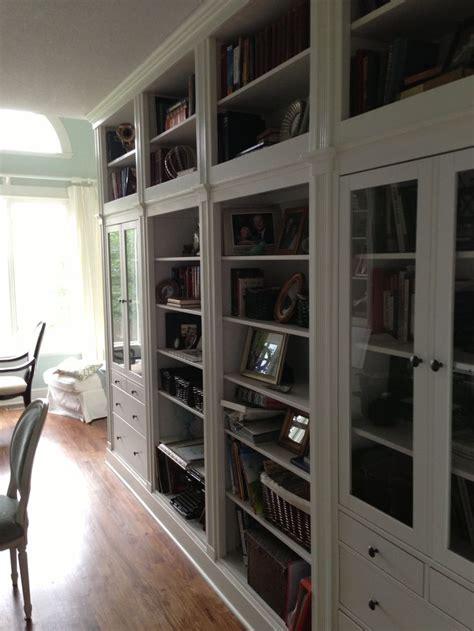 hemnes ikea hack  view home office