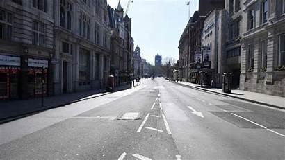 Lockdown Covid Britain London Into Lockdowns Goes