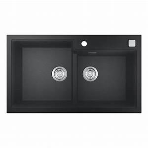 Einbauspüle Granit Günstig : grohe k500 einbausp le granit schwarz 31649ap0 ~ A.2002-acura-tl-radio.info Haus und Dekorationen