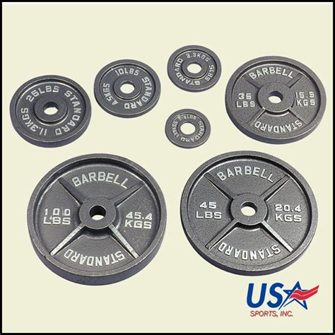 olympic plate weight standard weights usa lb 45 plates bench sports barbell lbs troy 300lb press 300 sets bar pound