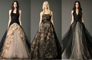 having extraordinary bridal look with black or dark With dark wedding dresses