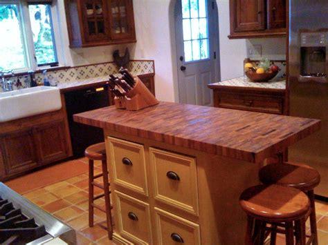 butcher block island counter tops mesquite custom wood countertops butcher block