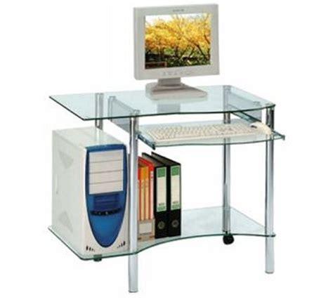 petit bureau informatique petit bureau verre