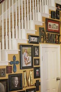 50 creative staircase wall decorating ideas art frames for Creative of decorating staircase wall ideas