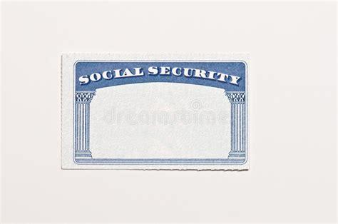 blank social security card template blank social security card stock image image of document 21843389