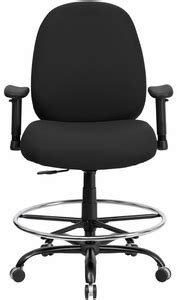 big and tall drafting chair with 400 lb weight capacity