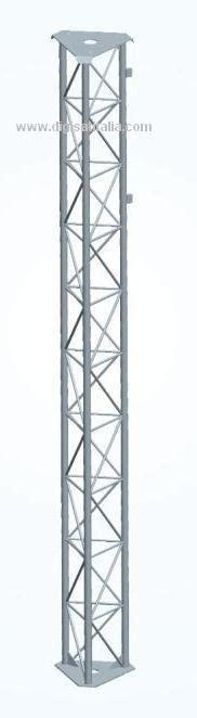 Tralicci Per Radioamatori - traliccio 30x30 rinforzato zincato a caldo sezioni di tre