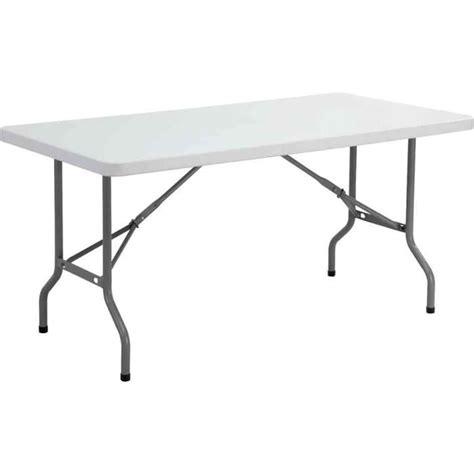bureau en plastique table pliante ycz 152 en plastique gris clair achat
