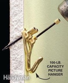 How To Hang A Bathroom Mirror On Drywall by How To Choose The Right Hanging Hardware Heavy Duty