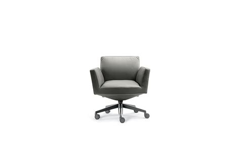 Chancellor Low Back With Castors Chair By Lievore