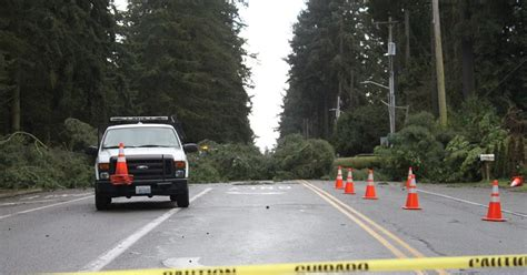 shoreline area news power outages whitecaps and rainbows