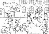 Playground Pages Colouring Coloring Activity Children Village Activityvillage Going Some There Lots Patio Colorear Dibujos Para Printable Might Think Certainly sketch template
