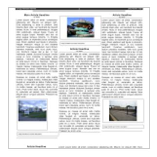 magazine template docs 5 handy docs templates for creating classroom newspapers educational technology and