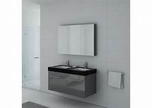 meuble de salle de bain 120 cm double vasque meuble With meuble double vasque gris