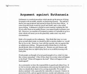 Pro euthanasia essay essay editing services canada pro euthanasia ...