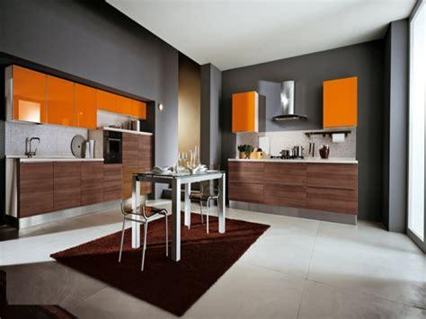 cuisine orange et gris cuisine gris et orange divers besoins de cuisine