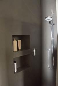 Bad Dusche Ideen : fugenlose dusche mit nischen bathroom ideen bad pinterest nische badezimmer und b der ~ Sanjose-hotels-ca.com Haus und Dekorationen