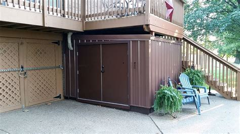 home improvement outdoor metal building shed new albany